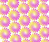 `Spiral flower pattern background.Abstract pattern,Colorful flowers,Flower background,Flower pattern,Floral wallpaper` vector illustration