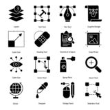 Graphic Design Icons Pack vector illustration