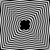 Basic RGBBlack and White  Striped Abyss.  Geometric Abstract Background. Suitable for textile, fabric, packaging Stock Image