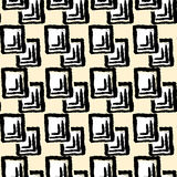 Basic RGBSeamless textile pattern print .Fashion trendy expressive hand drawn ink strokes.Perfect funky  background for text Stock Photos
