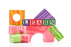 Basic Shapes Education Stock Photo