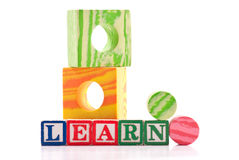 Basic Shapes Education Stock Image