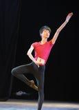 The basic skill of dance training Stock Image