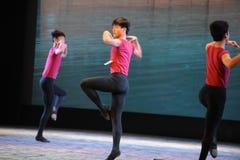 The basic skill of dance training Royalty Free Stock Photo