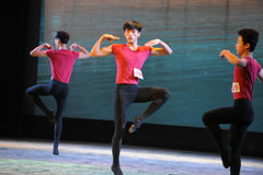 The basic skill of dance training Stock Photos