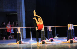 The basic skill of dance training Royalty Free Stock Photos