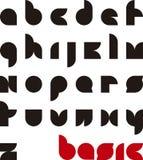 Basic typeface Stock Images