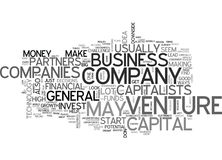 Basic Venture Capital Word Cloud. BASIC VENTURE CAPITAL TEXT WORD CLOUD CONCEPT Stock Photo