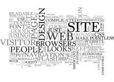 Basic Web Design Tips Word Cloud. BASIC WEB DESIGN TIPS TEXT WORD CLOUD CONCEPT Royalty Free Stock Image