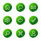 Basic web icons  Stock Photography