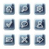 Basic web icons Stock Photo