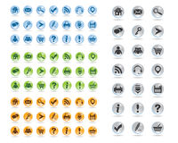 Basic web icons set #11 Royalty Free Stock Photo
