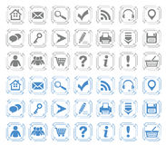 Basic web icons set #7 Stock Photo