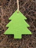 Basic xmas tree. Christmas fun and decorations, basic materials Stock Image