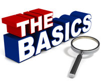 The basics Stock Images