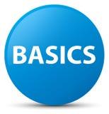 Basics cyan blue round button Royalty Free Stock Photo