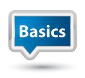 Basics prime blue banner button Royalty Free Stock Photo