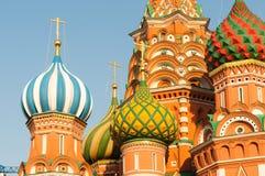 basilów katedralny Moscow plac czerwony st Zdjęcia Stock