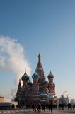 Basil Cathedral on Red square, Moscow Royalty Free Stock Photo