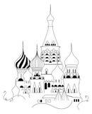 basil cathedral saint Стоковая Фотография