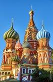 basil czerwonym s square katedralny st Obrazy Royalty Free