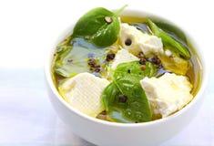 Basil Flavoured Feta Cheese