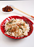 Basil fried rice Royalty Free Stock Photography