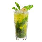 Basil lemonade Royalty Free Stock Photo