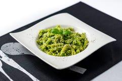 Basil pesto pasta salad. Stock Images