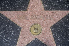 �Basil Rathbone� Star on Hollywood Blvd., Los Angeles, California Royalty Free Stock Images