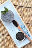 Basil seeds for fiber beverage and raw seed Stock Images