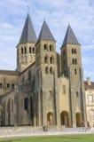 Basilaca Paray-Le-Monial, Франции, бургундской стоковое фото
