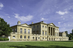 Basildon Park Country House, Berkshire, England. Front view of Basildon Park Country House, Berkshire, England Stock Photo