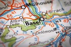 Basilea fotografie stock