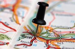 A Basilea en el balompié Imágenes de archivo libres de regalías