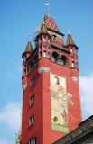 Basilea Rathaus foto de archivo libre de regalías
