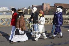 Basilea (Suiza) - carnaval 2014 Imagen de archivo