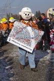 Basilea (Suiza) - carnaval 2014 Fotografía de archivo libre de regalías