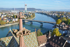 Basilea, Svizzera Fotografia Stock Libera da Diritti