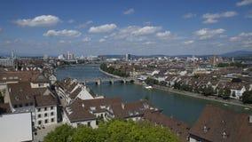 Basileia, Suíça Fotos de Stock Royalty Free