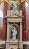 Basilic Budapest Szent Istvà ¡ n Royaltyfri Bild