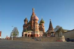 Basilic de rue de cathédrale à Moscou, Russie photos libres de droits