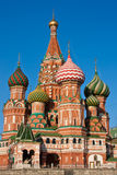 Basilic de rue - Moscou image libre de droits