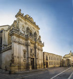 Basilic holy giovanni battista,lecce Royalty Free Stock Image