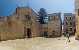 Basilic otranto Italië Stock Afbeeldingen