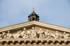 Basilica. Detail of St. Stephens Basilica in Budapest Stock Photos