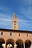Basilica Abbey of San Mercuriale in Forlì Royalty Free Stock Photo