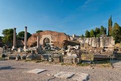 Basilica Aemilia Stock Image
