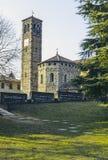 Basilica of Agliate Stock Photo
