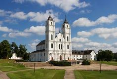 Basilica in Aglona. Royalty Free Stock Photos